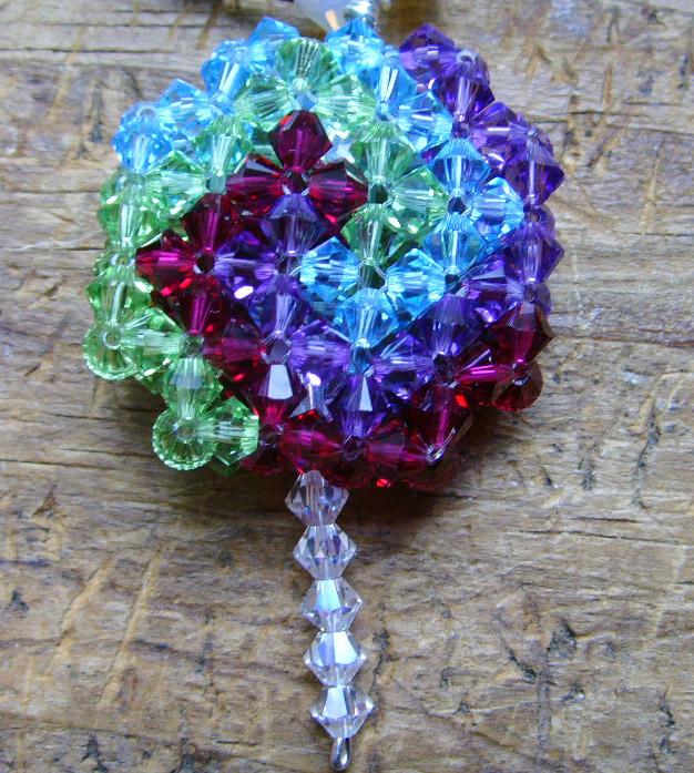 Right Angle Crystal : Crystal lollipop pendant odin s bead hall